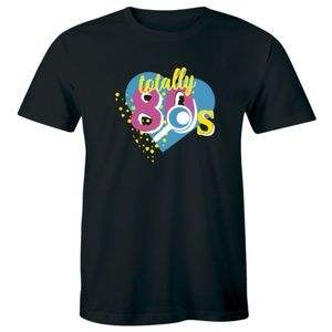 Totally 80s Accessories Retro Disco Party T-shirt